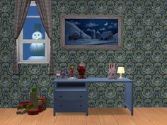 Fishmas 2015 - Day 21 Once in lowly Leefish city, Was a fishmas party held. Play Sims, Ikea Desk, Electronic Art, Sims 2, Double Vanity, Desks, Ikea Table, Mesas, Ikea Desk Top