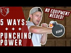 Develop Punching Power (Without Equipment) - YouTube