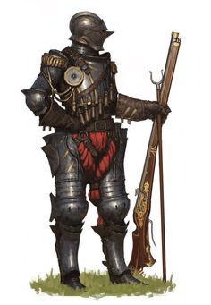 ArtStation - Musket Knight, Ariel Perez