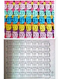 Diy Crafts - Crochet ideas that love Hexagon Crochet Pattern, Crochet Motifs, Crochet Blocks, Crochet Diagram, Crochet Stitches Patterns, Crochet Chart, Crochet Designs, Knitting Patterns, Baby Patterns