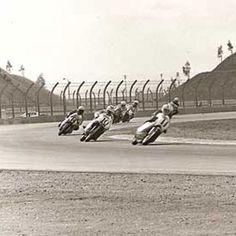 Gary Nixon at Ontario Motor Speedway - Classic Motorcycle Touring - Motorcycle Classics
