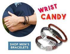 Wrist Candy's by Georg Roth Los Angeles  http://www.georgrothlosangeles.com/bracelets/mens-bracelets