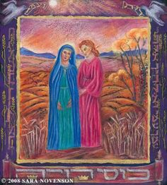 Ruth bible in art | Great Women of the Bible; Ruth and Naomi
