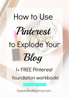 Wondering how to grow your blog and brand with Pinterest? If you're a blogger, creative, or entrepreneur, click through to read all my tips for creating a successful Pinterest account that will result in non-stop followers and increased page views! Plus a FREE Pinterest foundation workbook to ensure you're set up right, from the very start.