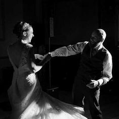 We love Charlotte & Ed's first dance at Hodsock Priory in #Nottinghamshire #UK  #blackandwhitephoto #firstdance #weddingdance #love #wedding #marriage #weddingdress #bride #groom #waistcoat #groomstyle #backlessweddingdress #happiness {http://buff.ly/2cIorBW}
