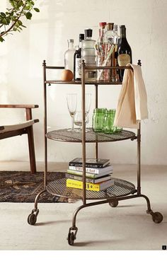 Three Tier Rolling Cart Urban Outers Wish List