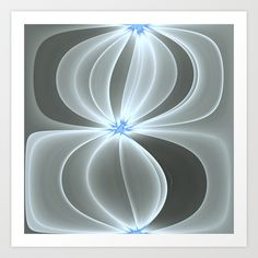 AetherealVibesSeries078 Art Print by fracts - fractal art - $16.00