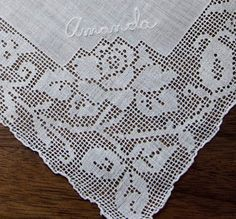 Antique Style: Hanky Primer #2: More Monogrammed Hankies