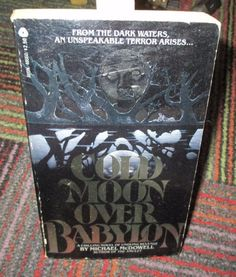 COLD MOON OVER BABYLON BY MICHAEL MCDOWELL, 1980 1ST AVON PRINTING PAPERBACK,GUC