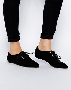 Image 1 of ASOS MY LOVE Flat Shoes