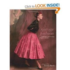 Vintage Fashion: Amazon.co.uk: Emma Baxter-Wright, Karen Clarkson, Sarah Kennedy, Kate Mulvey: Books