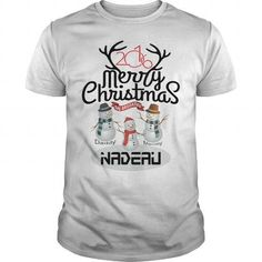 Awesome Tee Daddy - Mammy and NADEAU: Merry Christmas with Family T-Shirts