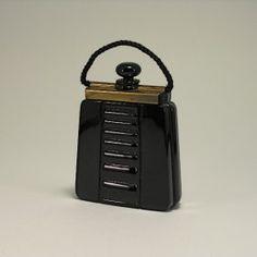 1927 Lubin Ouvrez Moi Perfume Bottle
