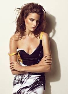 Cameron Russell Toby Knott for The Edit 8 May 2014