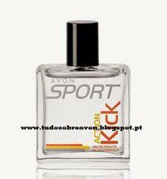 Tudo sobre Avon: Fragrâncias Avon - Avon Sport Action Kick