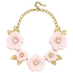 BaubleBar 'Petal' Collar Necklace ($58) ❤ liked on Polyvore featuring jewelry, necklaces, leaf jewelry, studded collar necklace, oversized jewelry, studded jewelry and leaves jewelry
