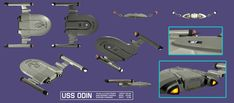 Early Years ship. Or even a replacement design for the Fed Light Cruiser.
