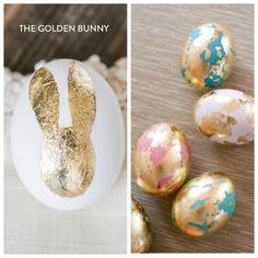 golden Easter egg decorating ideas