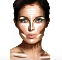 By far one of the greatest things a person can learn- contouring/highlighting can change your whole look!
