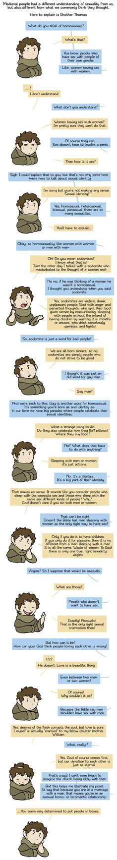 The past is rarely as we imagine it (By Humon Comics)