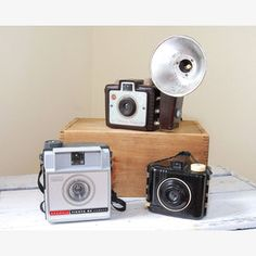 Brownie Camera Trio now featured on Fab.