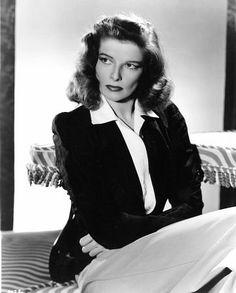 I have always admired Katharine Hepburn's style