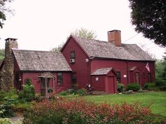 26 best Historic New England Homes Historic New England, New England Homes, Historic Homes, England Houses, Red Houses, Saltbox Houses, Farm Houses, Early American Homes, American Life