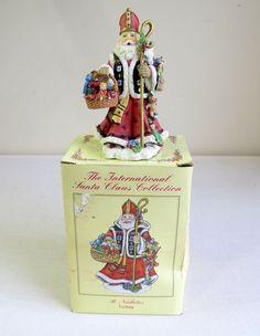 International Santa Claus Collection  St. Nicholas Turkey SC54, 2001