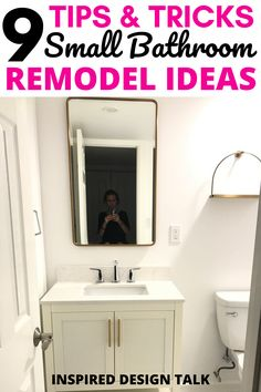 wow this is great in fo for my bathroom remodel. I had no idea what this bathroom remodel cost would be. #bathroommirror #bathroomvanity