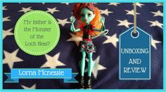 Hello everyone! I uploaded a video to my youtube channel (Sugar Overload) in which I do the unboxing and in-depth review of Lorna Mcnessie, daughter of the Loch Ness monster, from the collection Monster Exchange Program of Monster High  If you are interested, come and see it! (*≧ω≦*) https://www.youtube.com/watch?v=b6iV0Y_WsGg