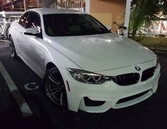 Nice BMW!  #protecautocare #engineflush #carrepair #bmw #white #sedan #tinted #custom #customized #nofilter #followus