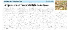La fauna del parco fluviale articolo di Adriana Robba (La Guida 15 maggio 2015)