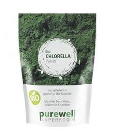 """CHLORELLA Algenpulver - Bio Superfood - Grüne Energie aus dem Quellwasser der Erde! Mehr als ein """"Entgiftungswunder""""!"""