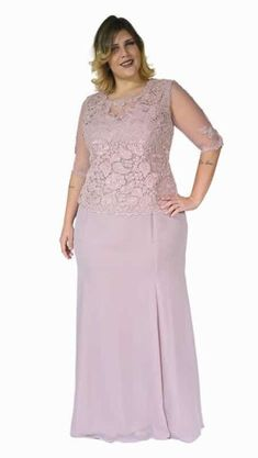 Roupas para Gordinhas, Moda Plus Size Online Casual e roupas African Attire, African Fashion Dresses, African Dress, Moda Festa Plus Size, Moda Plus Size, Plus Size Gowns, Plus Size Outfits, Big Size Dress, Plus Size Wedding