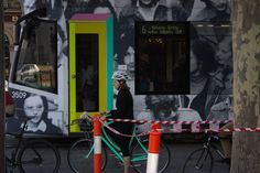 This is one of the first pictures I took. I liked this photo with the connection of colours with the mint bike matching the tram door. Definitely a concept I would like to explore more, really want to make colour a focal point in my photos