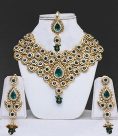 Indian Wedding Jewelry - a different spin on the traditional looking wedding jewelry