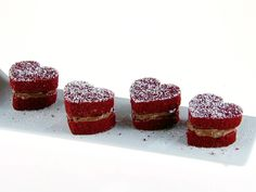 Red Velvet Whoopie Pies with Chocolate Cream Cheese Filling recipe from Giada De Laurentiis via Food Network