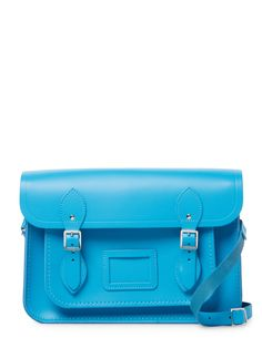 Solid Leather Satchel by The Cambridge Satchel Company at Gilt Birthday Wishlist, Cambridge Satchel, Shoulder Strap, Shoulder Bags, Leather Satchel, Korean Fashion, Logo Design, Product Launch, Handbags