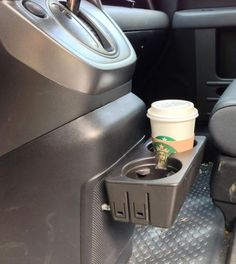 Added rugged cupholder to center cover below dash - Honda Element Owners Club Forum