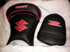 custom re-buil of sport bike seats with embroidery logos Bike Seat, Sport Bikes, Embroidery, Logos, Sneakers, Leather, Shoes, Fashion, Sportbikes