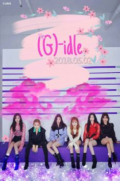 (G)-I-DLE KPOP Soo Jin, Mi Yeon, Yu Qi, So Yeon, Minnie & Shu Hua Cine Group gidle Kpop Wallpaper lockscreen