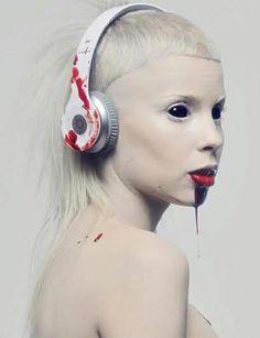 Model: Yo-Landi Vi$$er from DIE ANTWOORD  Photographer: Unknown
