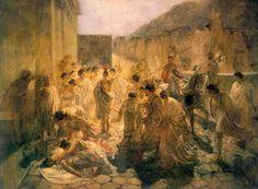 Nikolai Ge - Tod of Virginia , Studie