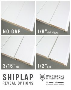 home decor Shiplap Guide: Shiplap, Tongue & Groove, and Plank Walls (Part How to build a Green-ho Shiplap Boards, Wood Boards, Shiplap Ceiling, Shiplap Bathroom Wall, Shiplap Diy, Installing Shiplap, Shiplap Fireplace, Ceiling Panels, Basement Remodeling