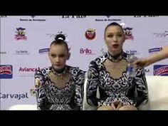 THE WORLD GAMES CALI 2013 ACRO-BLR-Sviatlana Mikhnevich/Yana Yanusik