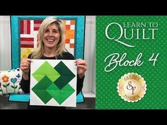 Welcome to Block Seven of the Learn to Quilt Intermediate Series with Shabby Fabrics! In this video, Jen shows you how to create a classic Girls Favorite Qui. Quilting For Beginners, Quilting Tips, Quilting Tutorials, Quilting Projects, Quilting Designs, Quilting Board, Hand Quilting, Sewing Projects, Backing A Quilt