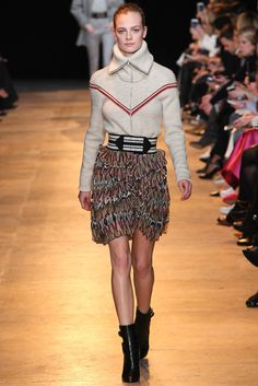 Isabel Marant Fall 2015 Ready-to-Wear Fashion Show - Ine Neefs (Elite)