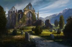 "madcat-world: "" Tranquility among the Ruins - Daniel Ljunggren (Daryl) """