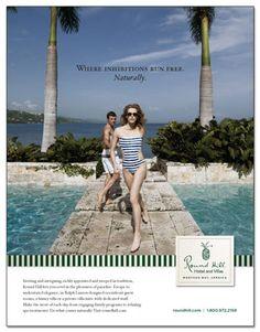 Round Hill Hotel and Villas Branding Campaign - Gold Addy Award Winner 2012