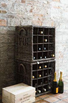 cheap/ cute vino storage